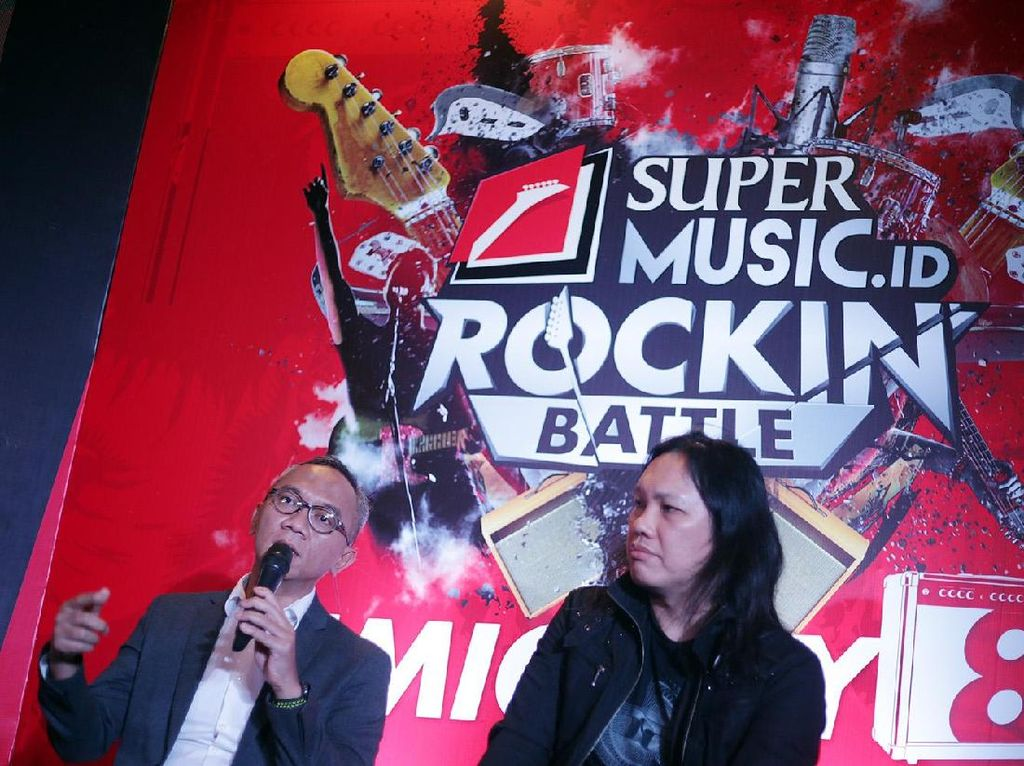 Stephan Santoso Produseri Album Kompilasi Rock