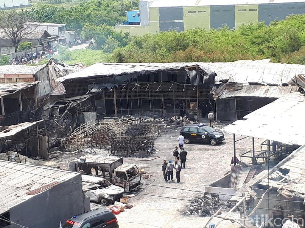 Total 35 Jasad Korban Ledakan Pabrik Kembang Api Teridentifikasi