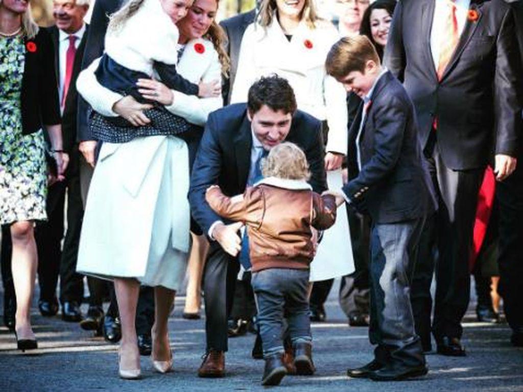 Justin Trudeau, Sosok Perdana Menteri yang Kebapakan Banget