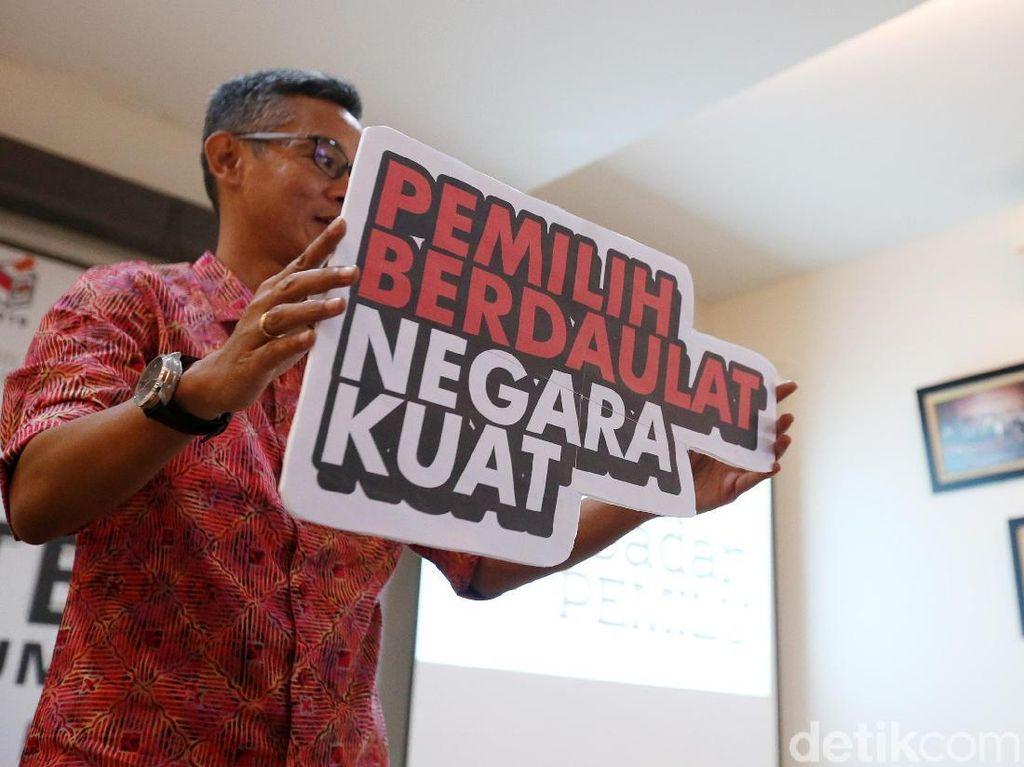 Pemilih Berdaulat Negara Kuat Jadi Tagline Pemilu 2019