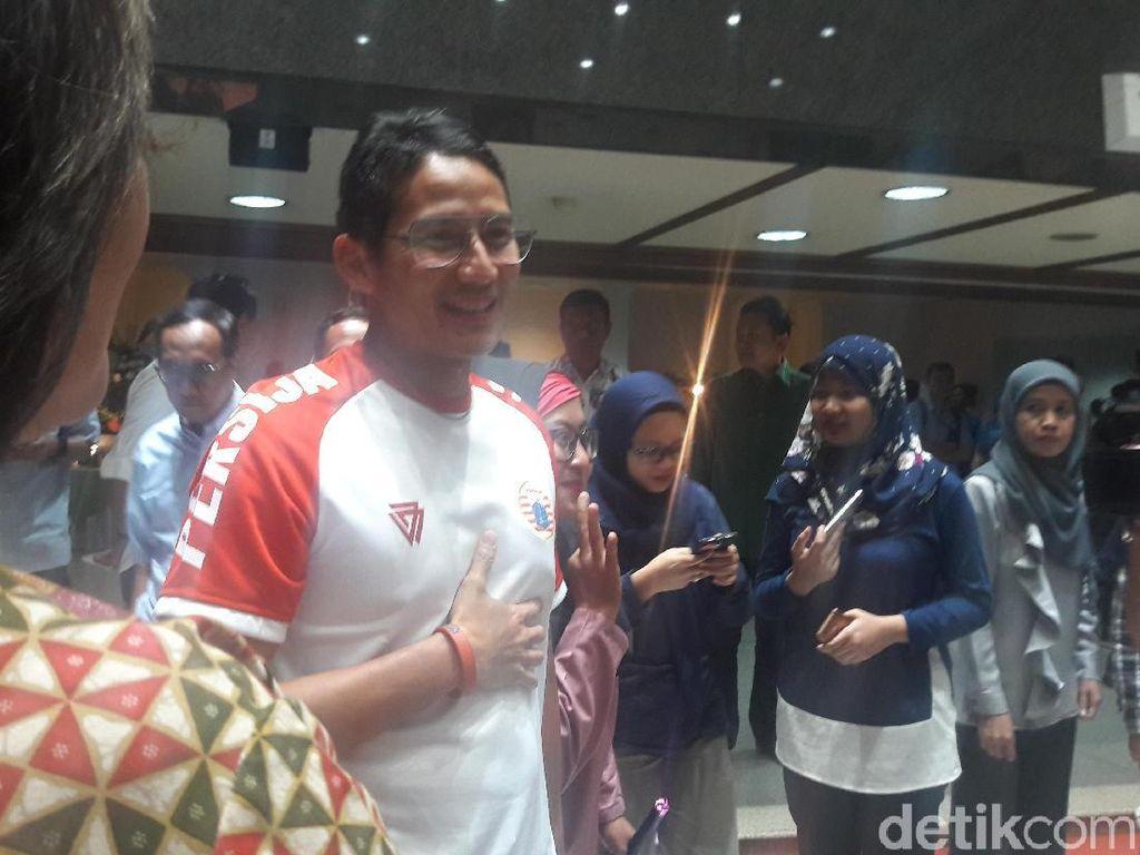 Ikut Jakarta Marathon, Sandiaga akan Lari 21,1 Km