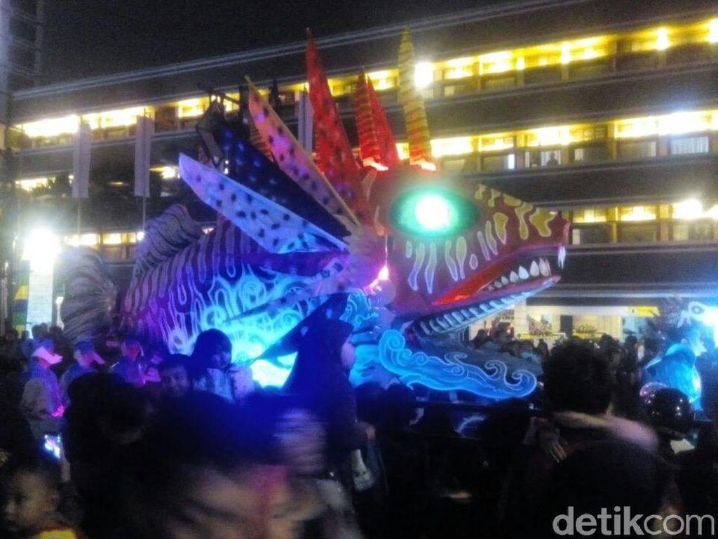 Serunya Bandung Light Festival Under The Sea Bertabur Cahaya