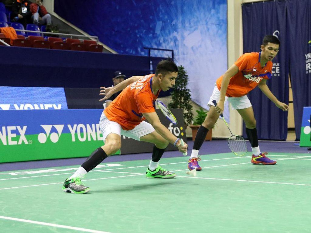 Jadi Runner-up di Jerman, Fajar/Rian Incar Penebusan di Hong Kong