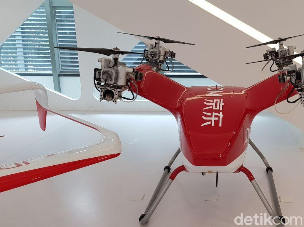 Lebih Dekat dengan Drone Pengantar Barang Buatan JD
