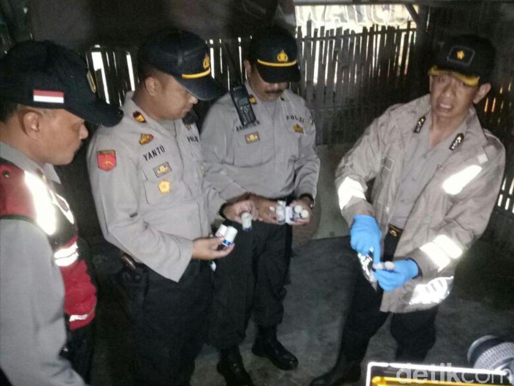 Ratusan Petasan di Sukabumi Diamankan Polisi