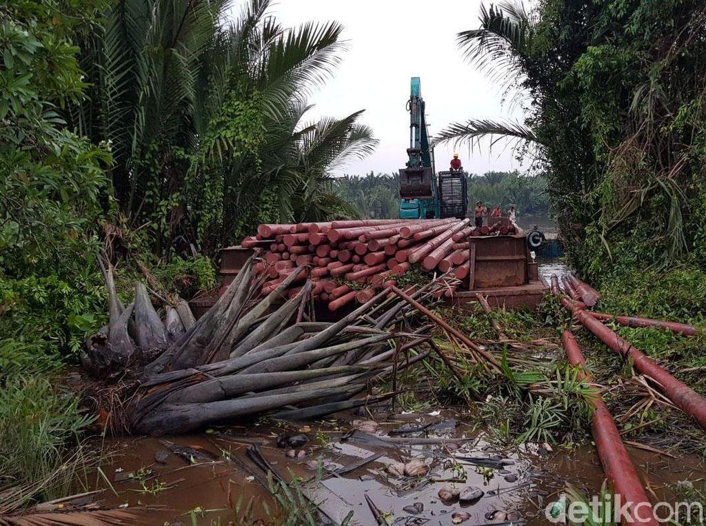 Begini Perjuangan Terangi Desa Terpencil di Riau