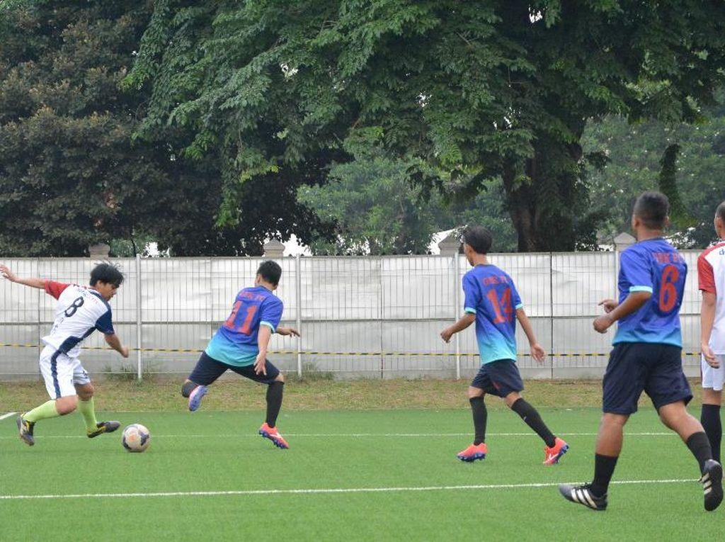 Menjajal Lapangan Latihan Timnas untuk Asian Games 2018