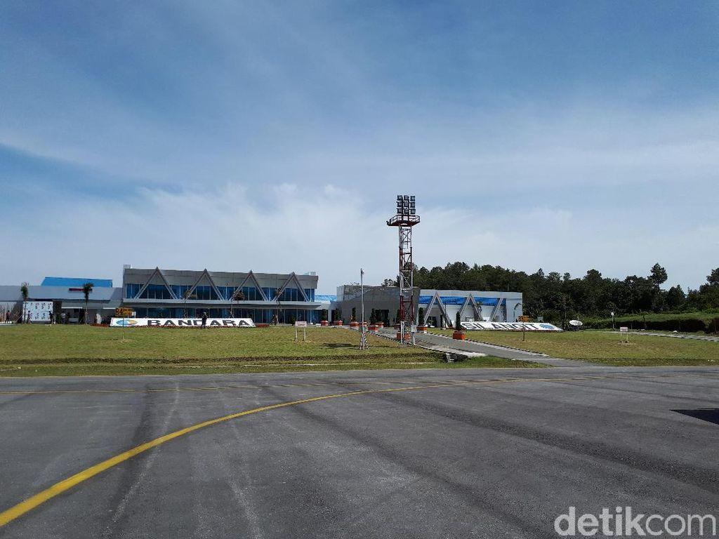 Hari Ini Bandara Silangit Layani Rute Internasional Perdana