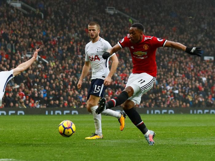 Pemain Manchester United, Anthony Martial (Foto: Jason Cairnduff/Action Images via Reuters)