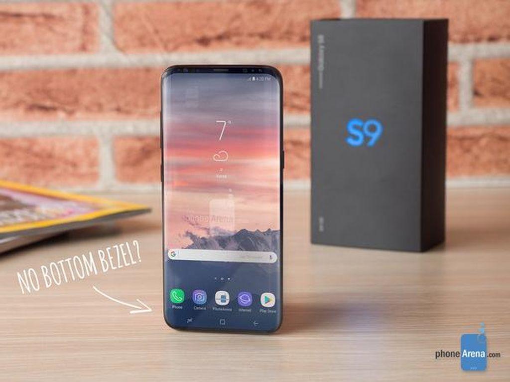 Samsung Tinggalkan Sensor Sidik Jari di Galaxy S9?