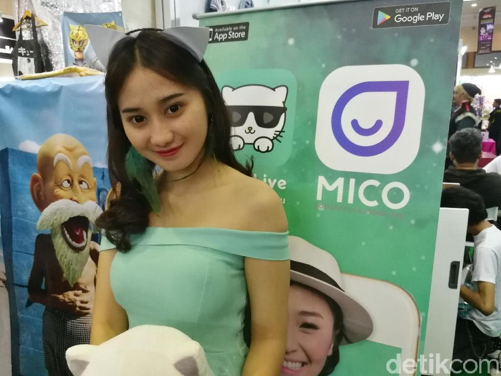 Ramaikan Indonesia Comic Con, Kitty Live Berburu Cosplayer