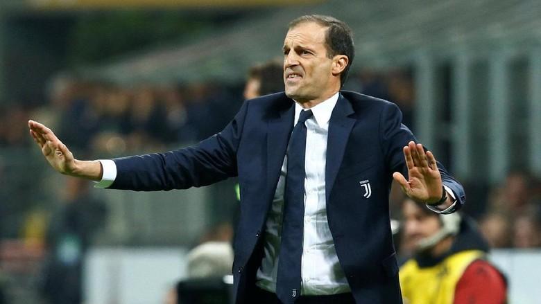 Allegri Enggan Komentari Kontroversi Gol Juventus