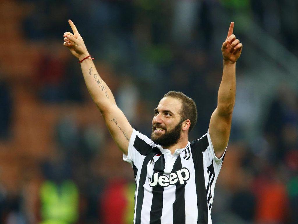 Higuain, Bonucci, dan Transfer Langsung Juventus-Milan Lainnya