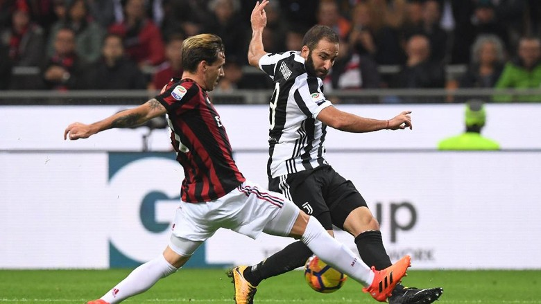 Milan 0-2 Higuain