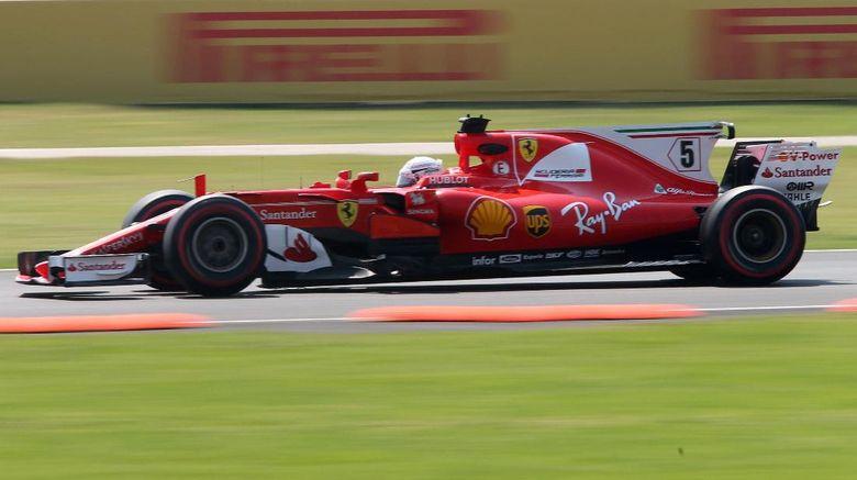 Vettel Start Terdepan di Meksiko