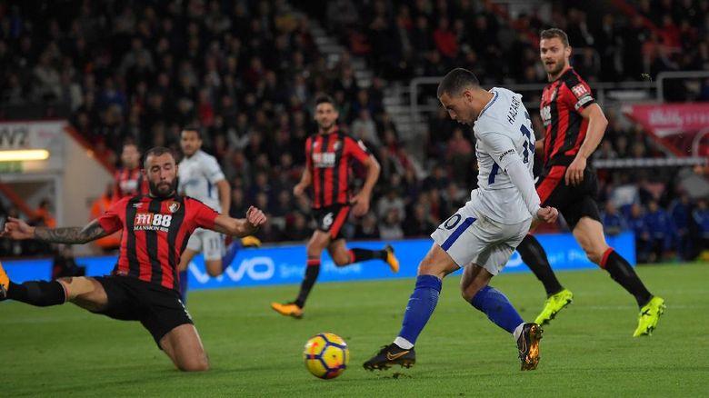 Di Markas Bournemouth Chelsea Meraih Kemenangan Lewat Gol Tunggal Hazard