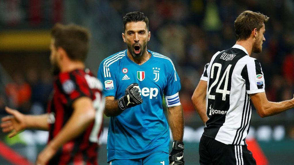 Buffon Jadi yang Terbaik di Serie A