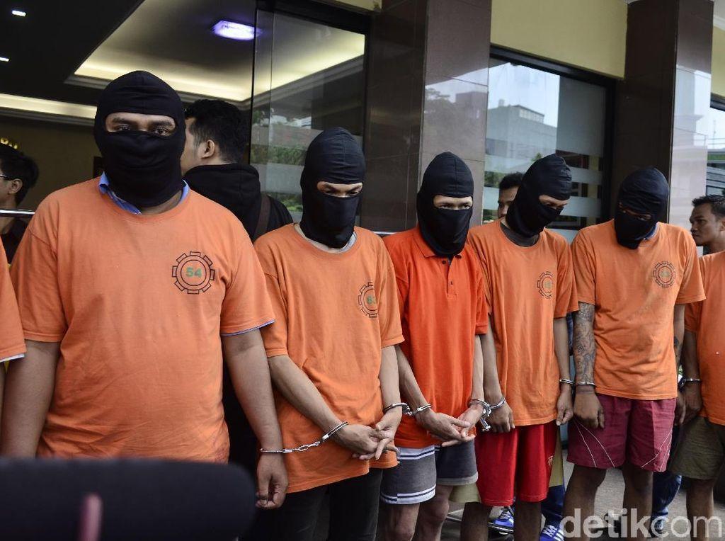 Komplotan Pencuri Motor Ojek Online Ditangkap