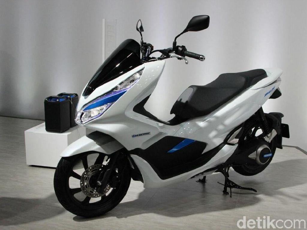 Honda Resmi Kenalkan PCX Listrik