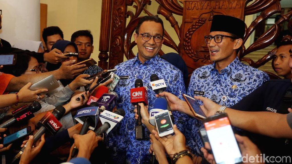 Anies-Sandi Gelar Rapim Pemprov DKI Jakarta