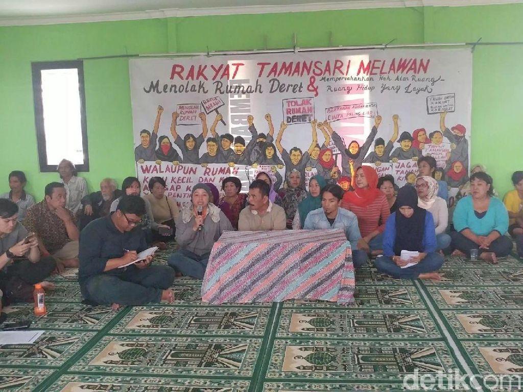 Soal Penggusuran di Tamansari, Warga Tolak Temui Ridwan Kamil