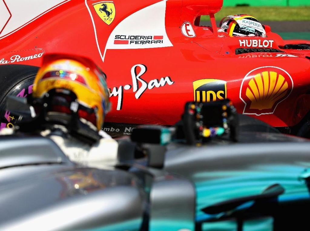 Apakah Vettel Sengaja Menabrak Hamilton?