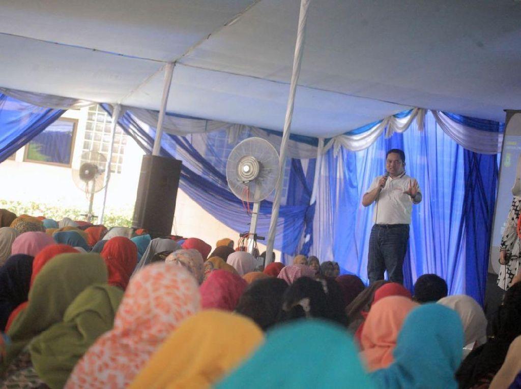 Emak-emak di Tangerang Diajak Selesaikan Persoalan Kota