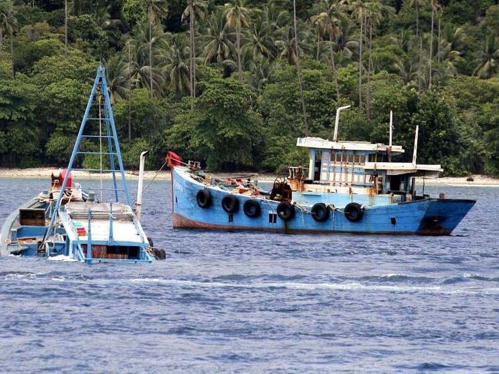 Modus Baru Kapal Maling Ikan Tak Ditenggelamkan, Eh Dijual Lagi