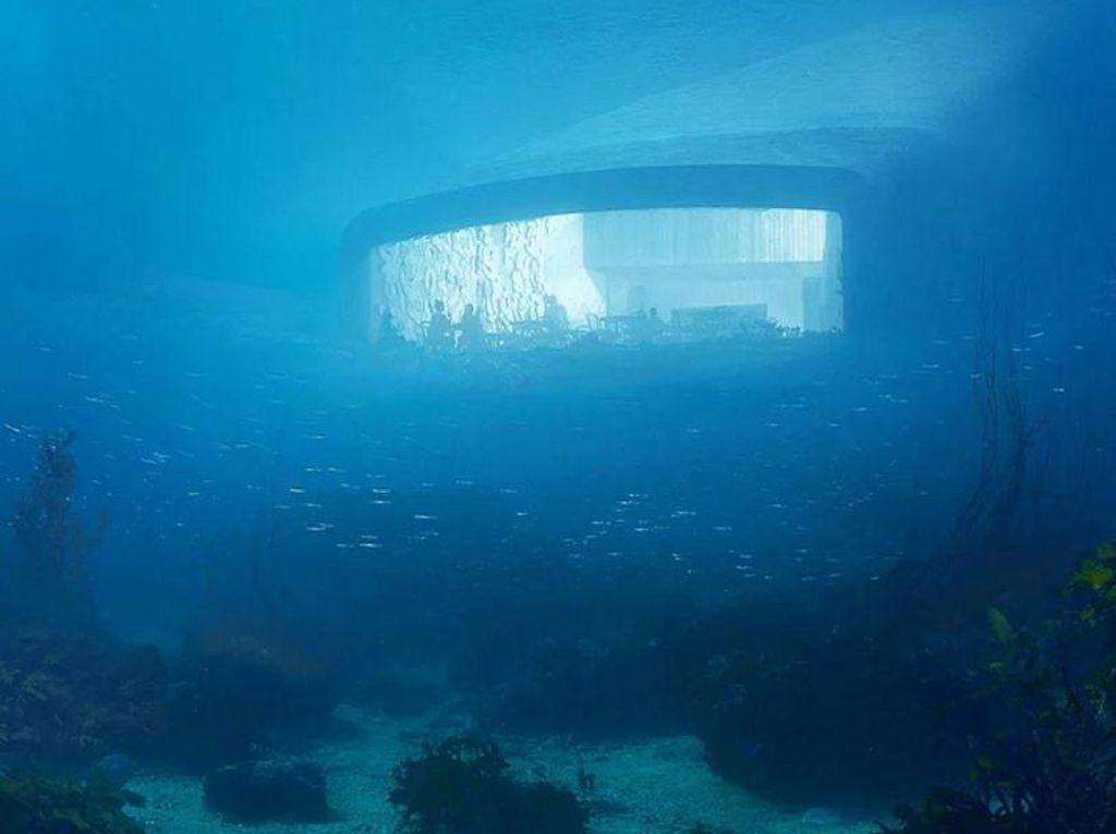 Ini Desain Artistik Restoran Bawah Laut Pertama di Eropa yang Akan Dibangun di Norwegia