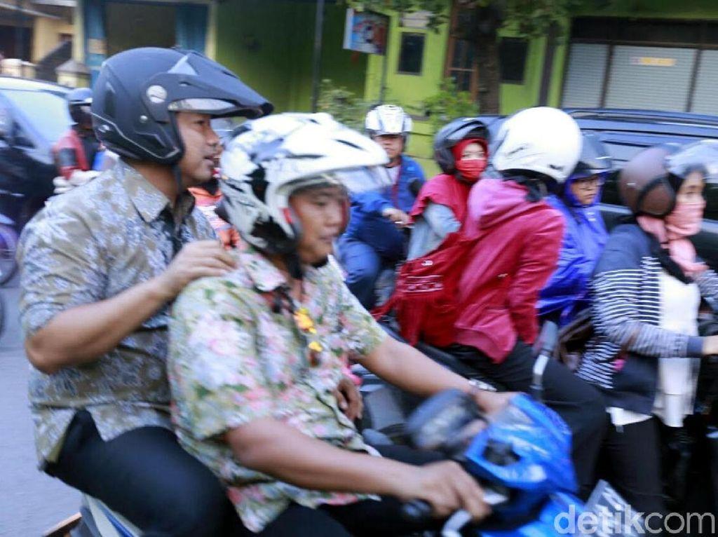 Walkot Semarang Kecewa Tak ada Petugas Dishub Saat Terjebak Macet