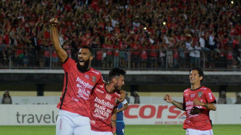 Bali United Berhasil Puncaki Klasemen Setelah Berhasil Mengalahkan  Sriwiajaya