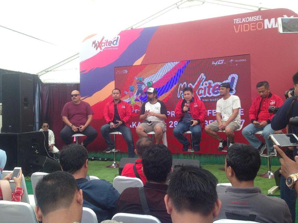 MAXcited Telkomsel Sambangi Makassar