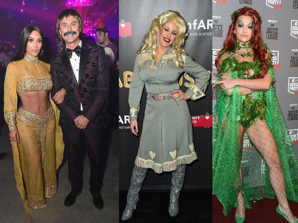 Kostum Halloween Para Seleb, Mana yang Bikin Naksir?