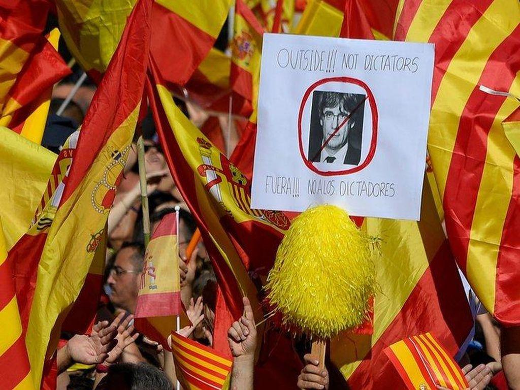 Kejaksaan Spanyol Siapkan Dakwaan Atas Pemimpin Catalonia