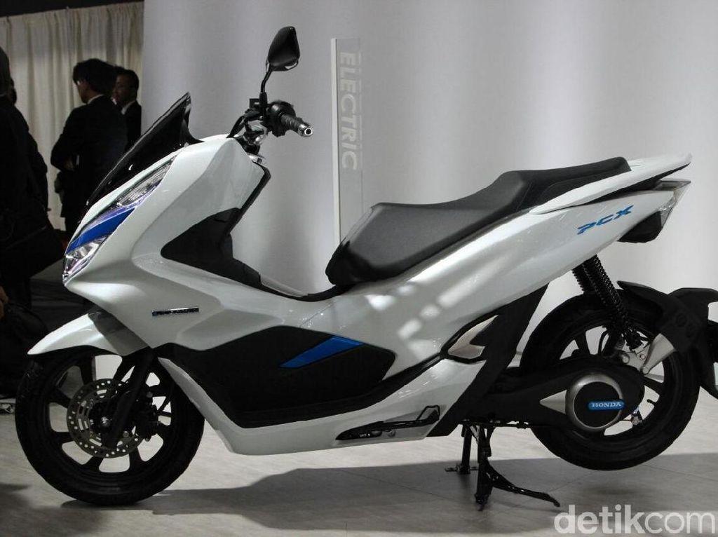 Honda PCX Listrik Bisa Disewa