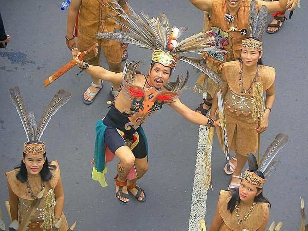 Pawai Pesona Budaya Tabalong Kalimantan Selatan