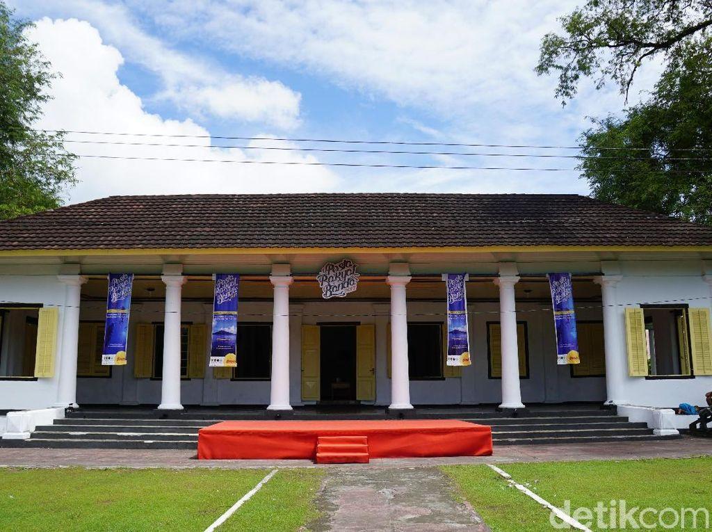 Foto: Istana Bogor dari Banda Neira