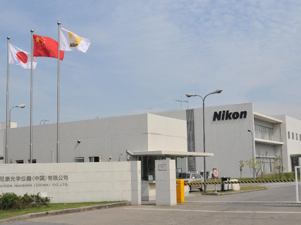 Nikon Tutup Pabrik Kamera di China