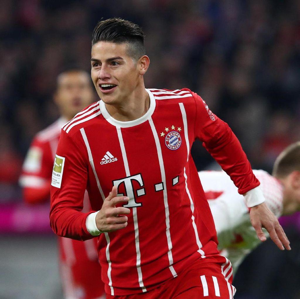 Bahagia di Bayern, James Belum Pikirkan soal Kembali ke Madrid
