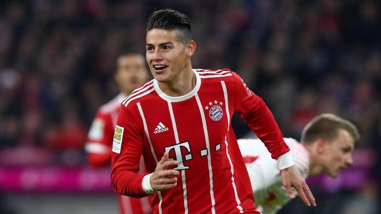 James Impikan Treble bersama Bayern