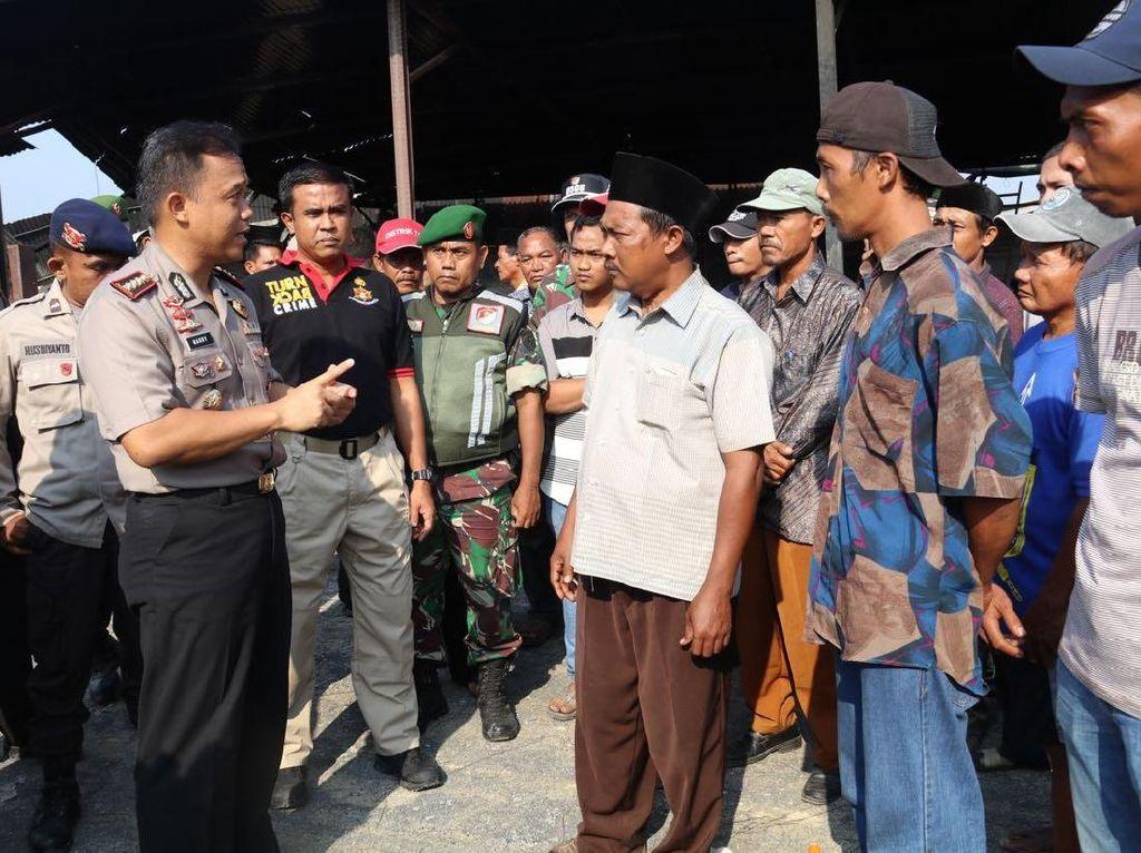 Polisi Siap Bantu Warga Cari Keluarga Hilang di Pabrik Kembang Api
