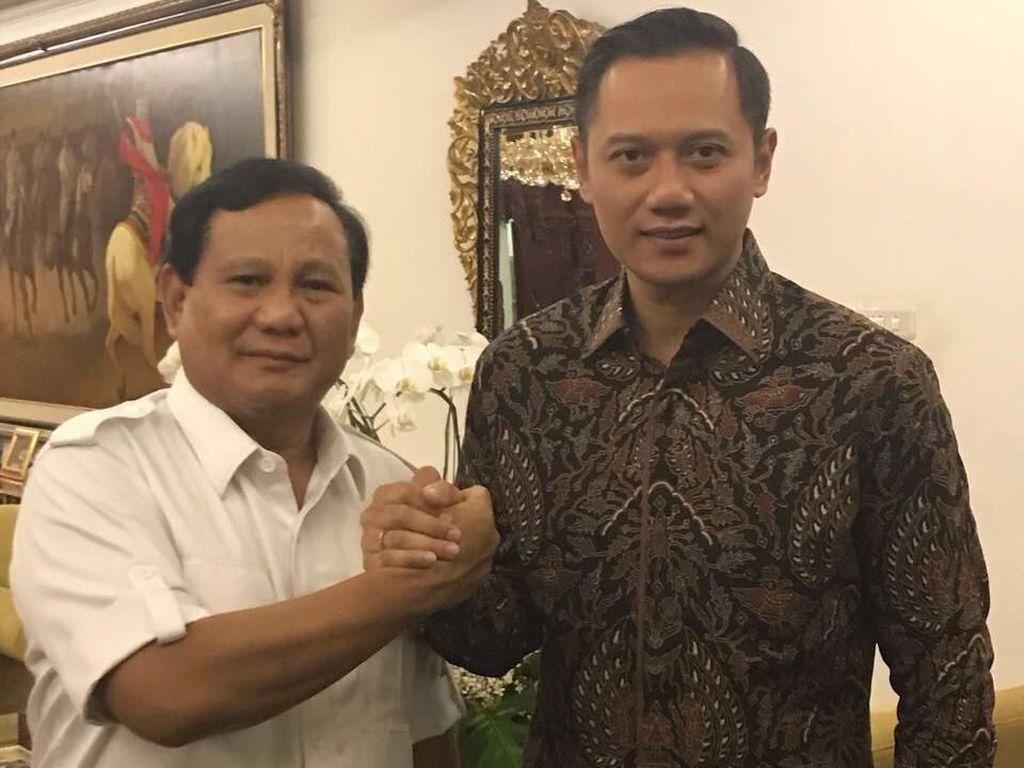 Prabowo, AHY, dan Anies Hadiri Maulid Habib Kwitang