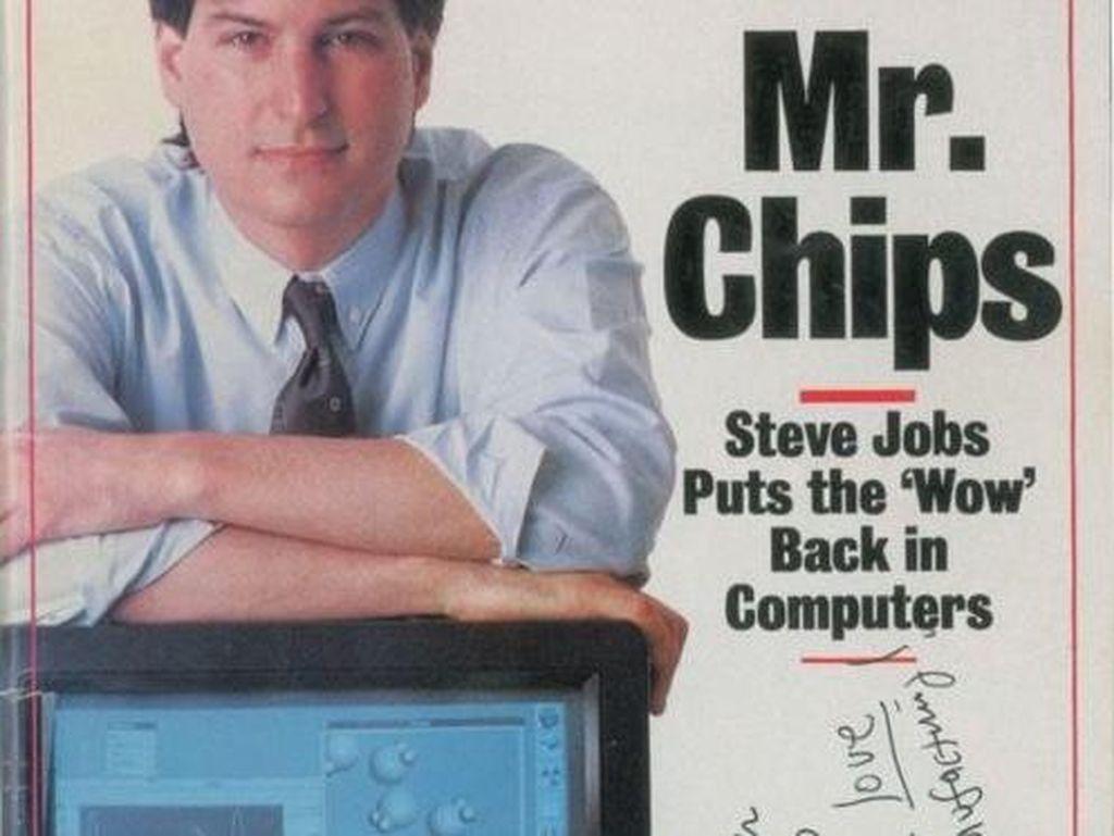Majalah Ini Laku Rp 670 Juta Gara-gara Tandatangan Steve Jobs