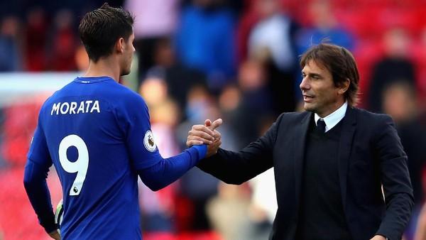 Cara Morata Hindari Kutukan Jersey Nomor 9 Chelsea