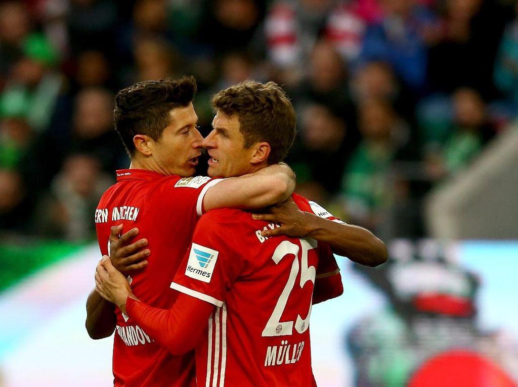 Tanpa Striker, Bagaimana Bayern Hadapi Celtic?