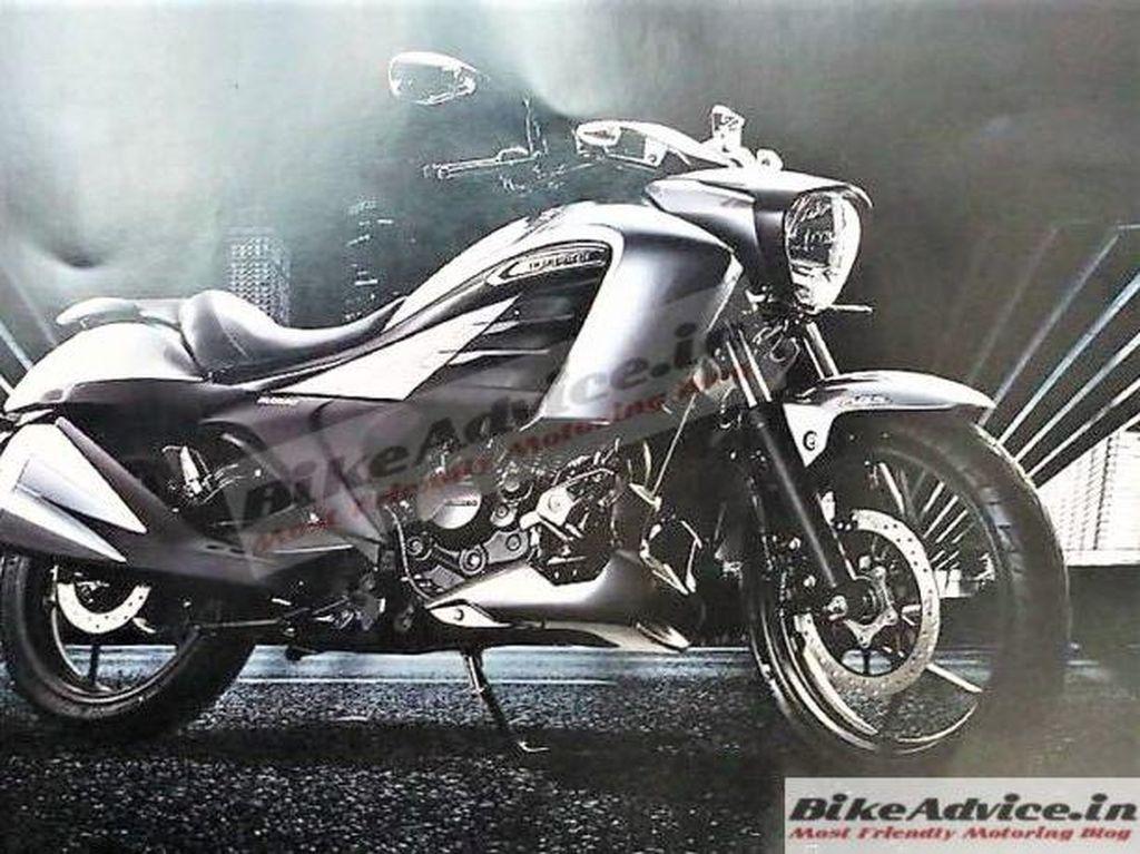 Suzuki Siapkan Cruise 150cc Terbaru