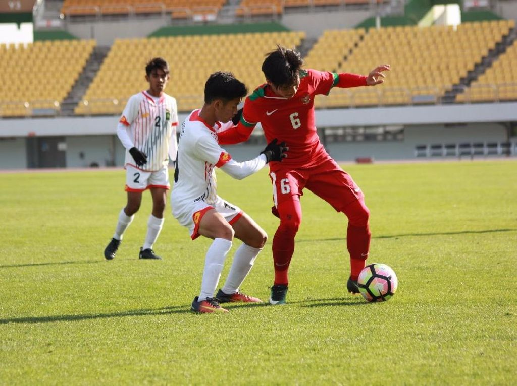 Timnas U-19 Gasak Brunei 5-0