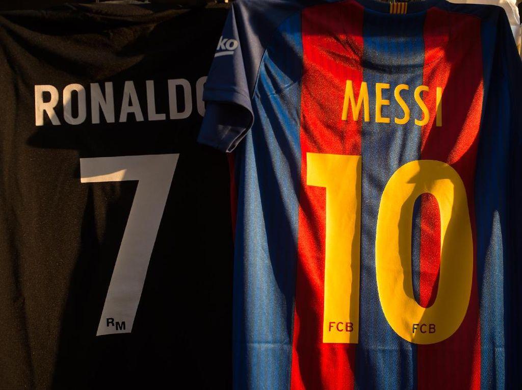 Ronaldo vs Messi, Komparasi Gol Usai Perempatfinal Liga Champions