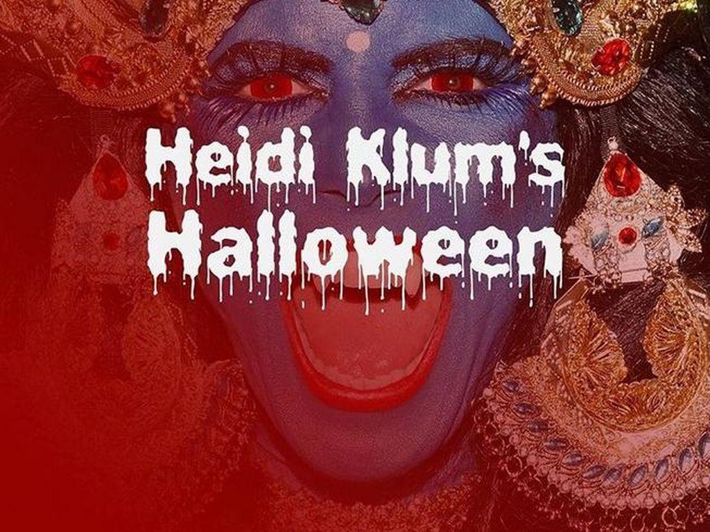 Kostum Halloween Heidi Klum dari Tahun ke Tahun