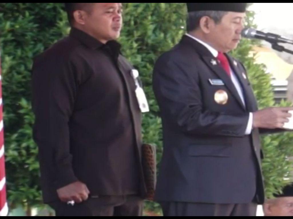 Gubernur Sulbar Salah Baca Teks Pancasila, Sekda: Itu Khilaf